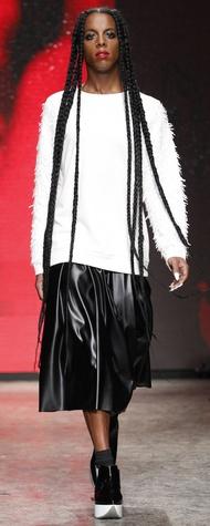 DKNY Look 14 February 2014