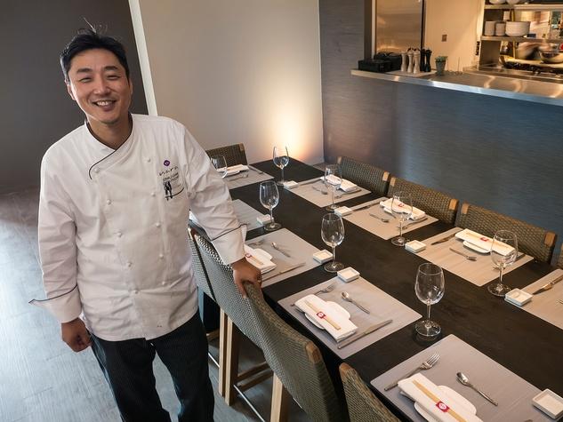 3 Nara restaurant Houston November 2013 chef Donald