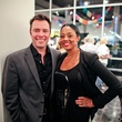 John Andell and Denise Furlough at the Lawndale Gala and Retablo Silent Auction October 2013
