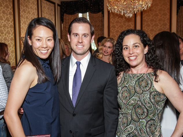 SEARCH Picnic in the Park 2015 Ting Bresnahan, Chris Brown and Viviana Denechaud