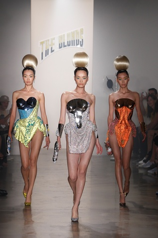 The Blonds runway show, fashion week, Sept 2013