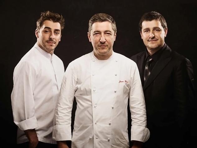 The Rocca brothers of El Celler de Can Roca restaurant in Girona, Spain Jordi, from left, Joan and Josep