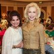 65 Linda McReynolds, left, and Lynn Wyatt at the Salvation Army luncheon April 2014