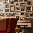 Prohibition Bar Houston interior with photos on wall The Galleria area