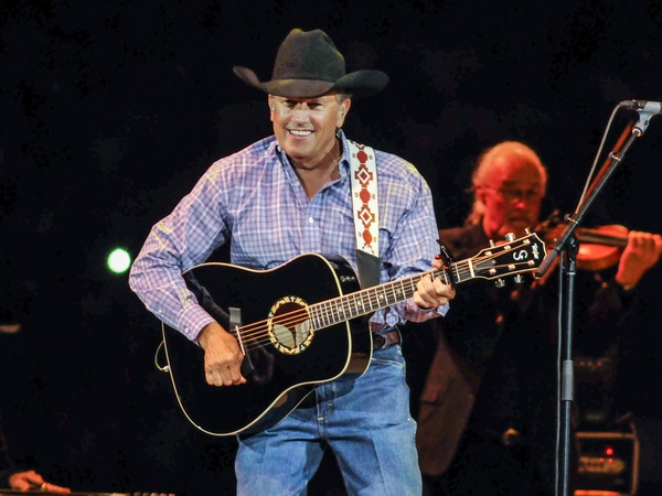 George Strait guitar