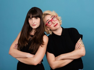 Gaby Dunn and Allison Raskin