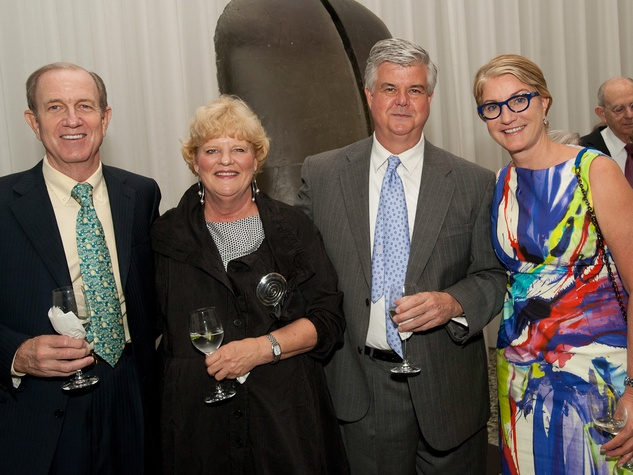 News_MFAH Turrell dinner_May 2012_Brad Bucher_Gwen Goffe_Ed Eubanks_Suzanne Deal Booth