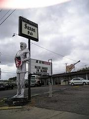 Austin Photo: Places_Live Music_Saxon Pub_Sign