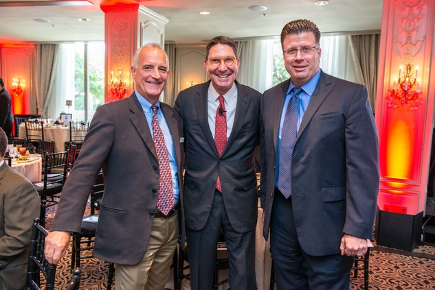 Houston, Crime Stoppers Awards luncheon, May 2015, Chuck Beckman, Scott McClelland, Harlan Hooks