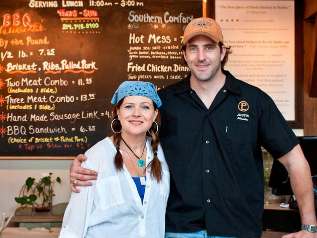 Diane and Justin Fourton of Pecan Lodge in Dallas