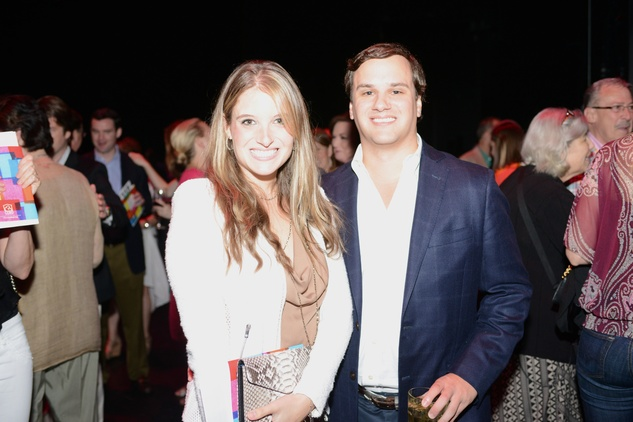 14 69-Brittany Bloom and Brad Dinerstein at the Casa de Esperanza benefit April 2014