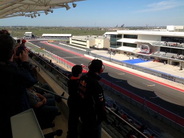 Austin Photo: Kevin_Formula 1 day 1_November 2012_suites