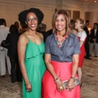 9431 Keisha Cohen Phillips, left, and Benita Byrd at the National Kidney Foundation luncheon May 2014