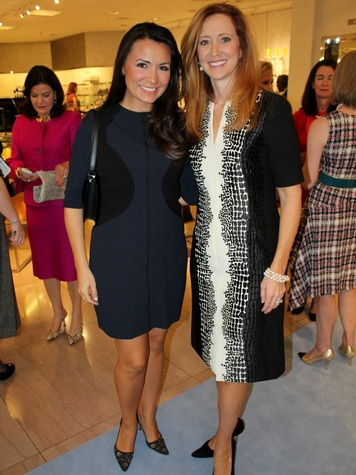 Kimberly Schlegel Whitman, Tiffany Divis, CCB 10 Best Dressed Luncheon