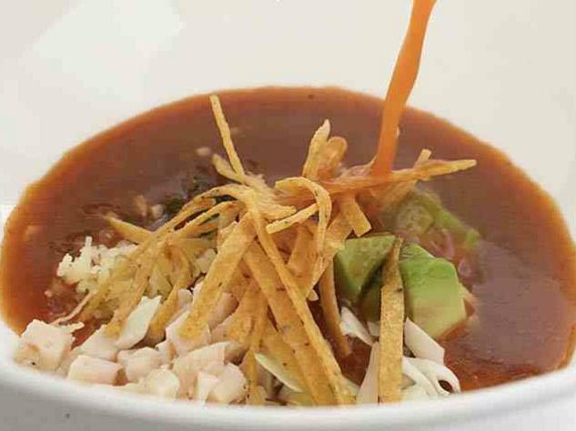 Tortilla soup, Fearing's, Ritz Carlton
