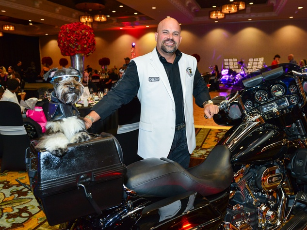 14 Dorsey Parker with Bear at Bad to the Bone June 2014