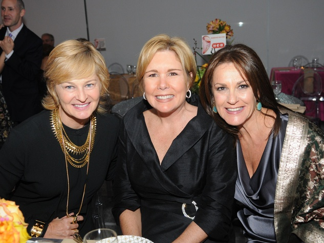 14 Julia Perry, from left, Clare Sullivan Jackson and Tali Blumrosen at the Dress for Success 15th anniversary party October 2013