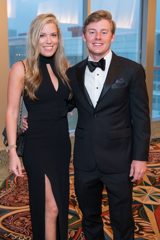 Holly and Austin Alvis at Memorial Hermann Gala