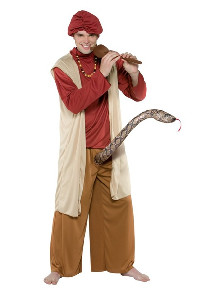 Halloween costumes, for men, Snake Charmer, October 2012