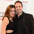 Laura Nelson and Ben Rose at the Audi Central Houston grand opening March 2014
