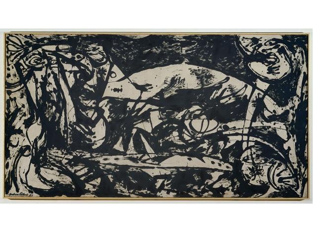 Jackson Pollock's Number 14 - 1951