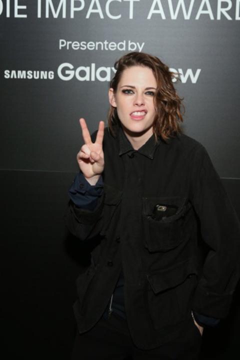 Kristen Stewart at Sundance Variety Indie Impact Dinner Presented by Samsung Galaxy View at the Samsung Studio