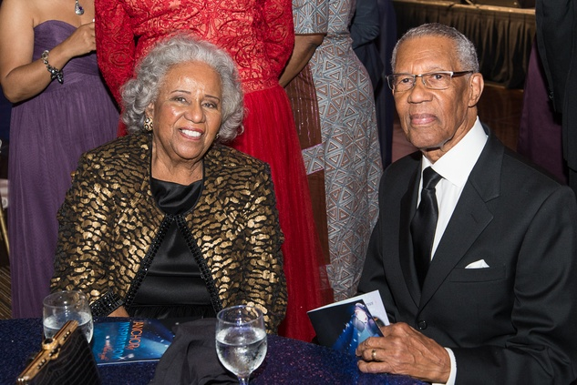 News, Shelby, Ensemble Theatre gala, August 2014, Audrey Lawson, Rev. Bill Lawson