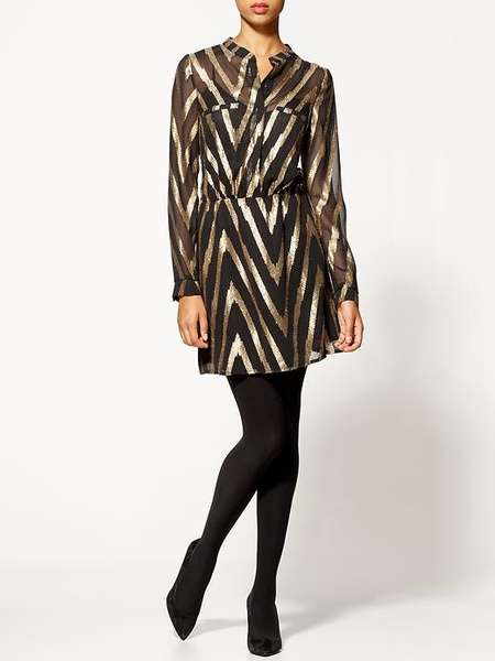 Aryn K. Zig Zag Dress