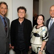 18 Johnathan Lack with artist Alfredo Jaar and Heather and Stephen Lack at the Art Circle launch October 2013