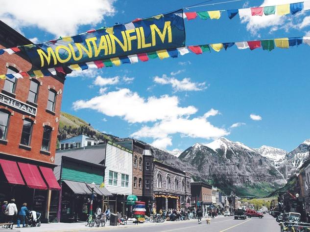Telluride Mountainfilm Festival, banner