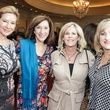 Vicki Kanaly, from left, Juli Eichler, Debbie Kanaly and Debbie Brossman at the MS Society luncheon March 2015