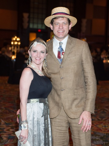 Cherie and Erik Kingshill at the Covenant House Gala April 2014