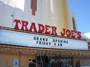 Trader Joe's, Alabama Theater, opening