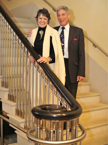 Joan Davidow, Stuart Glass, Meadows Reception
