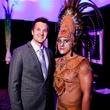 Leo Soehnlen, left, and Fabian Suarez at DREAMSCAPE The Orange Show's 32nd Annual Gala November 2013