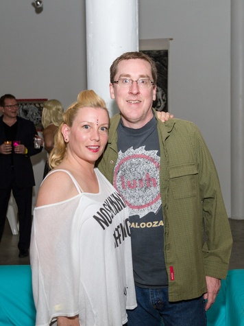 2972 Stacey Abbott and Mark Moss at Party Like a Rock Star benefiting Planned Parenthood August 2014