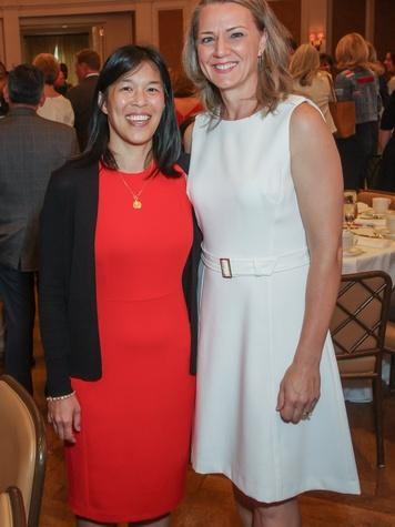 Anne Sung and Sue Deigaard/Mayor's Breakfast