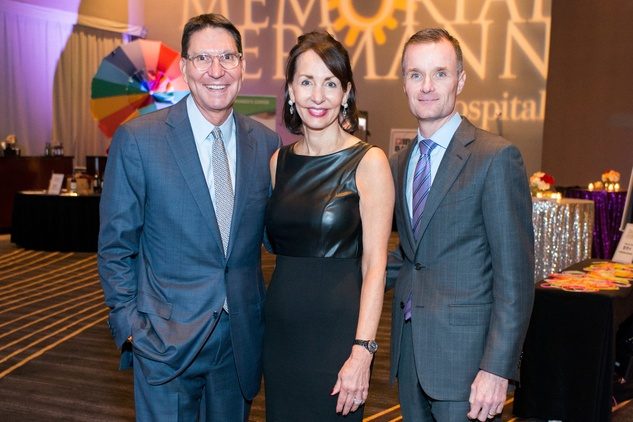 News, Shelby, Memorial Hermann Under the Boardwalk, Nov. 2015,  Scott McClelland, Susie DeStefano and Craig Cordola