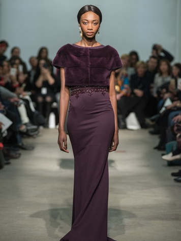 Clifford Fashion Week New York fall 2015 Rolando Santana February 2015 look 30