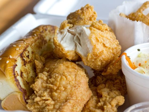 chicken tenders, Zippy's
