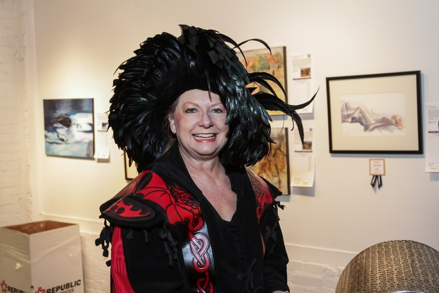 2 Ardis Bartle at the Art on the Avenue benefit November 2014