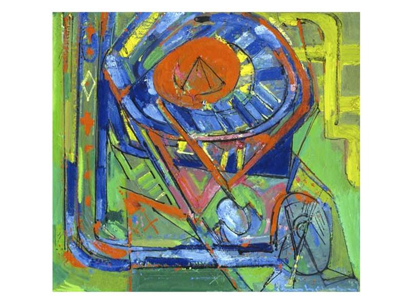 News_Houston Fine Art Fair_Sept. 2011_Hans Hofmann_Serenity