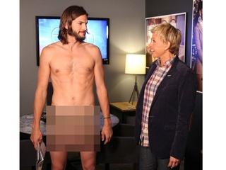 News_Kutcher_Ellen DeGeneres_naked_nude