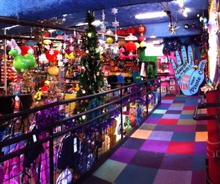 interior of Toy Joy store on 2nd Street District