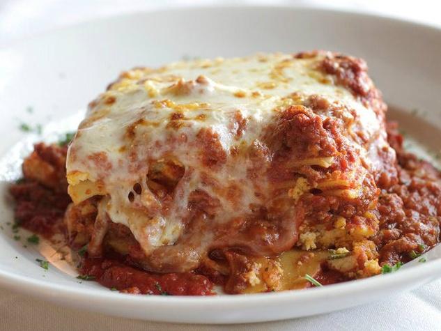 Lasagna at Patrizio restaurant in Dallas