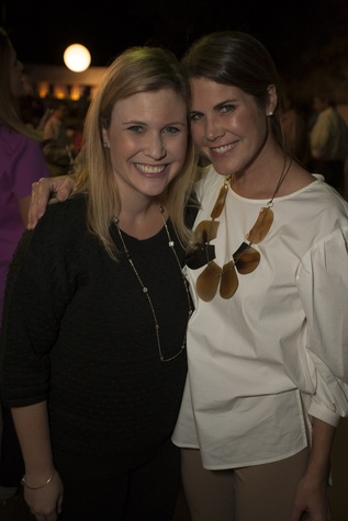 28 Sally Dillee, left, and Ashley Cruse at the Toss for Texas Children's Hospital October 2014
