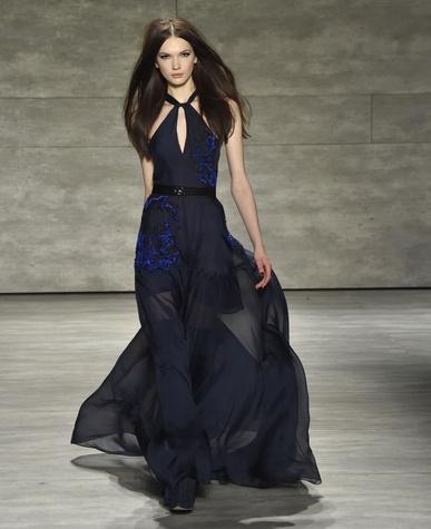 Clifford Fashion Week New York fall 2015 Pamella Roland March 2015 Look 29