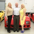 Marcie Berry, from left, Erik Eller and Rita Beckett at the Joints in Action at Ferrari of Houston June 2014