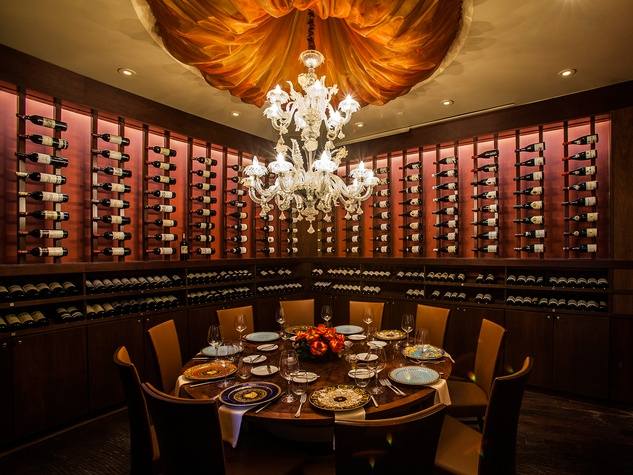 8 Tony's 50th anniversary March 2015 wine room THIS