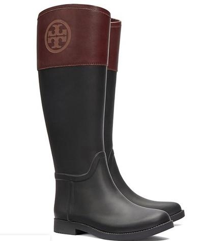 Rain Boots, Tory Burch classic rain boot, on sale $164.50